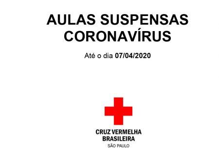 PRORROGAÇÃO DE AULAS SUSPENSAS CORONAVÍRUS