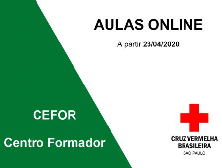 Aulas e atividades on-line a partir de 23/04/2020